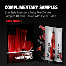 Shu Style Members Enjoy Two Deluxe Samples Of Your Choice With Every Order