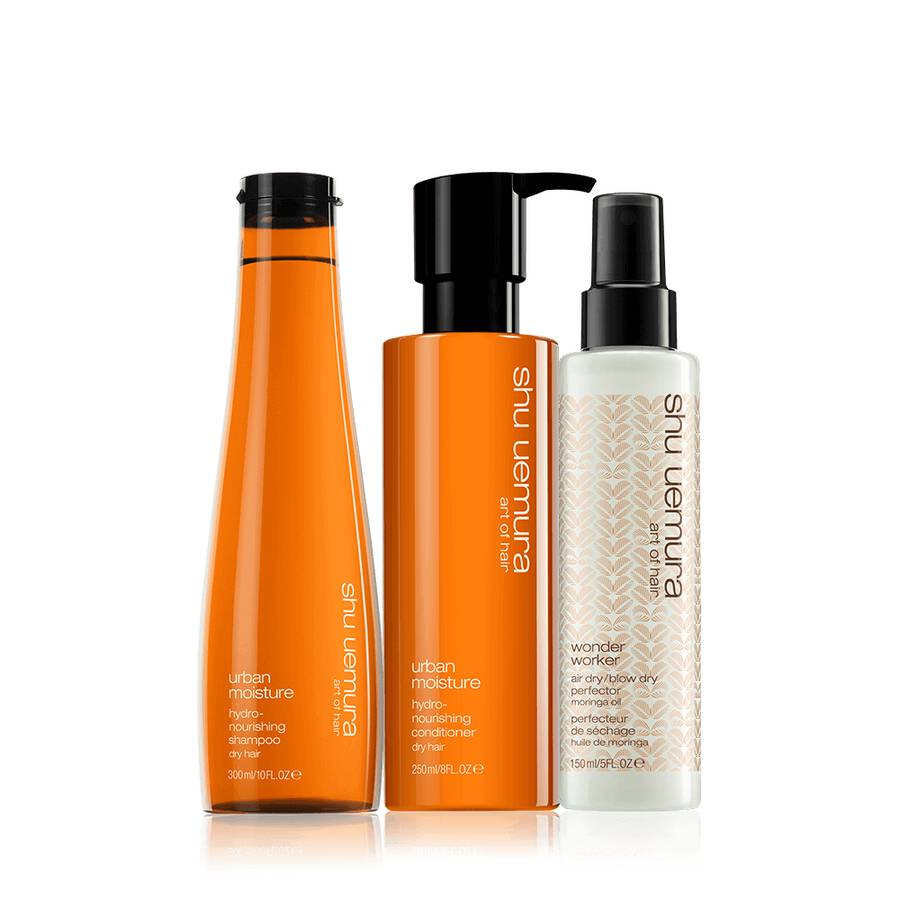 urban moisture hair styling set