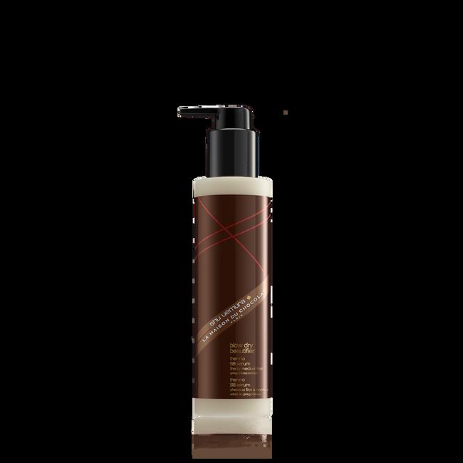 shu uemura x la maison du chocolat blow dry beautifier thermo bb hair serum