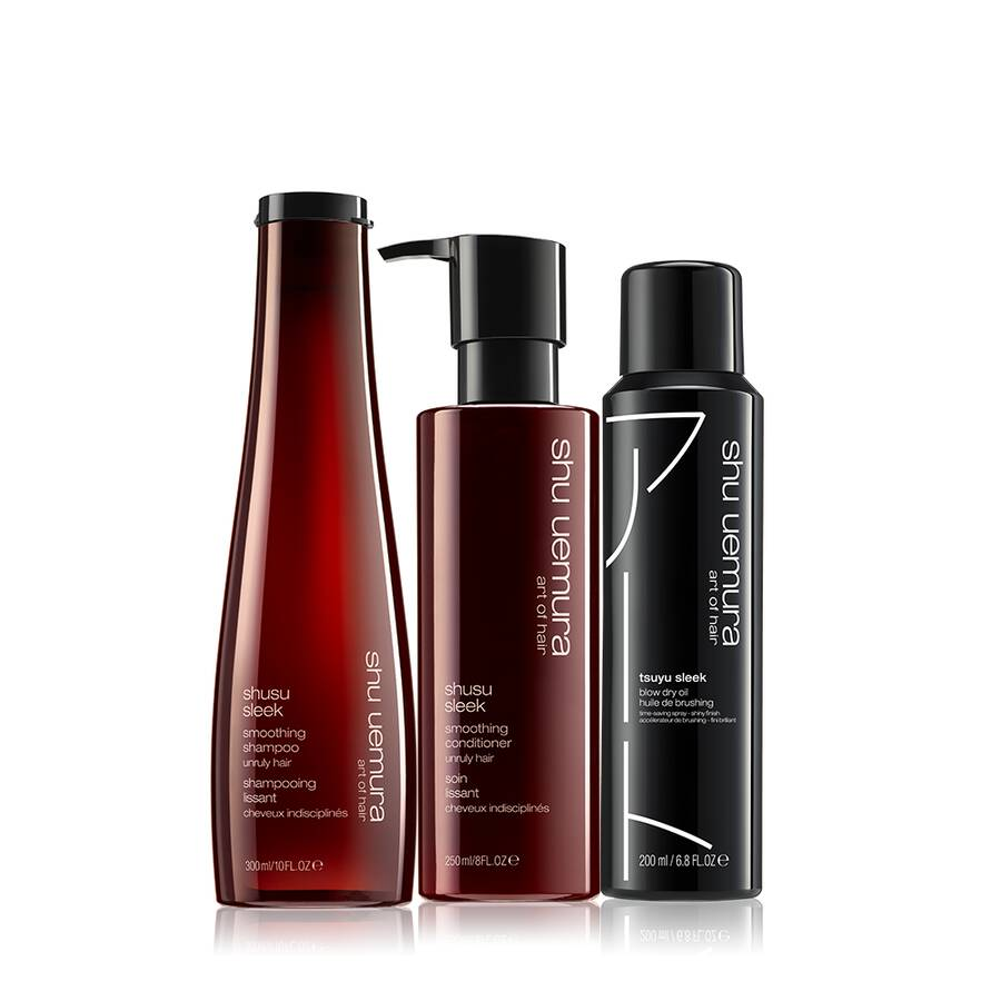 Shusu Sleek Anti-Frizz Hair Set
