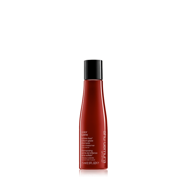 color lustre travel-size shampoo