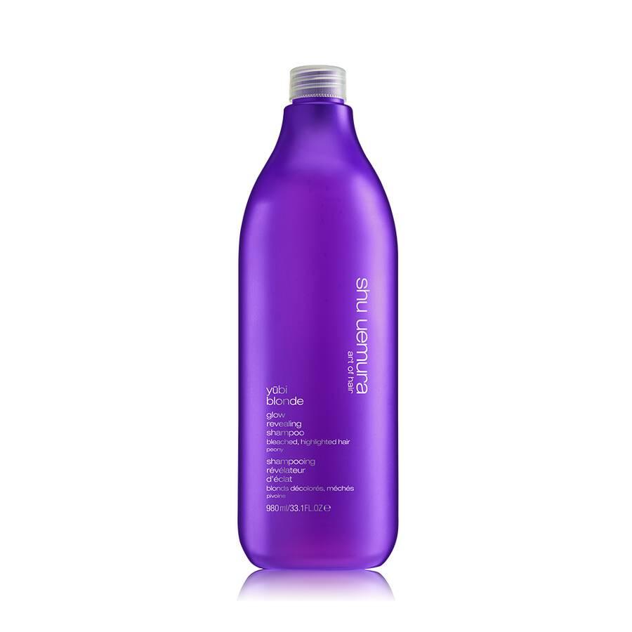 yūbi blonde glow revealing deluxe shampoo