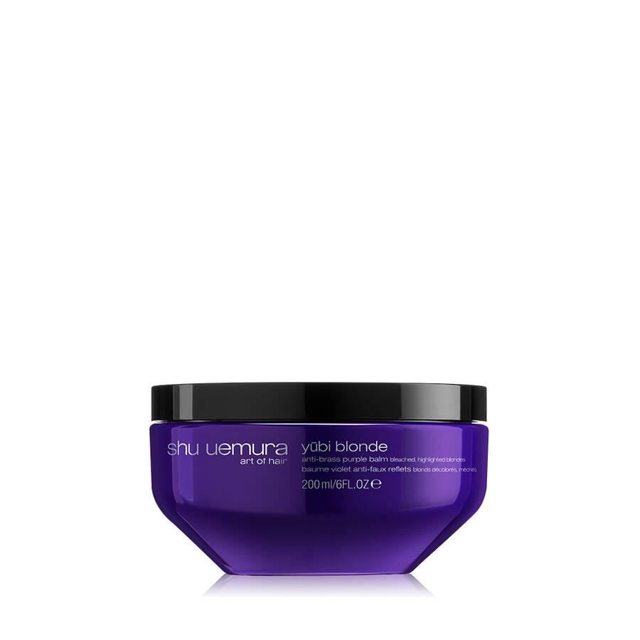 yūbi blonde anti-brass purple hair mask