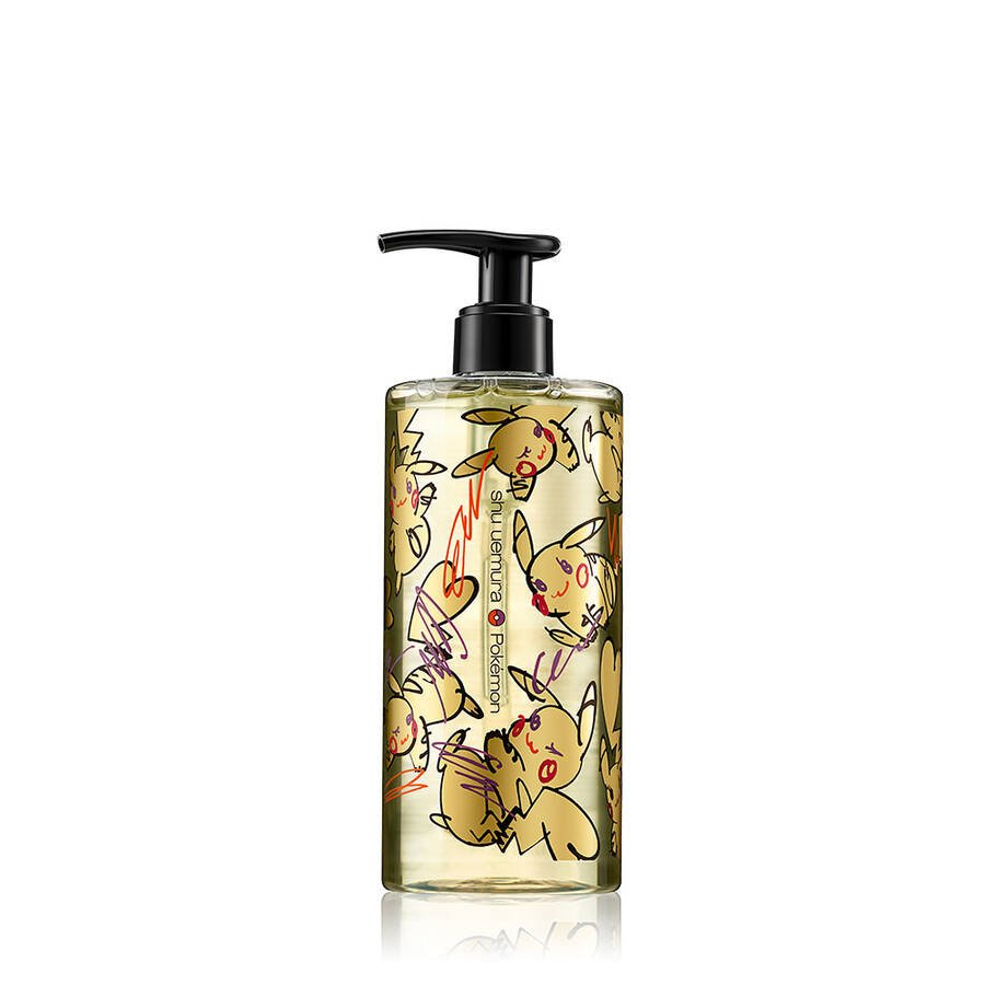 shu uemura art of hair x pokémon cleansing oil gentle radiance cleanser shampoo