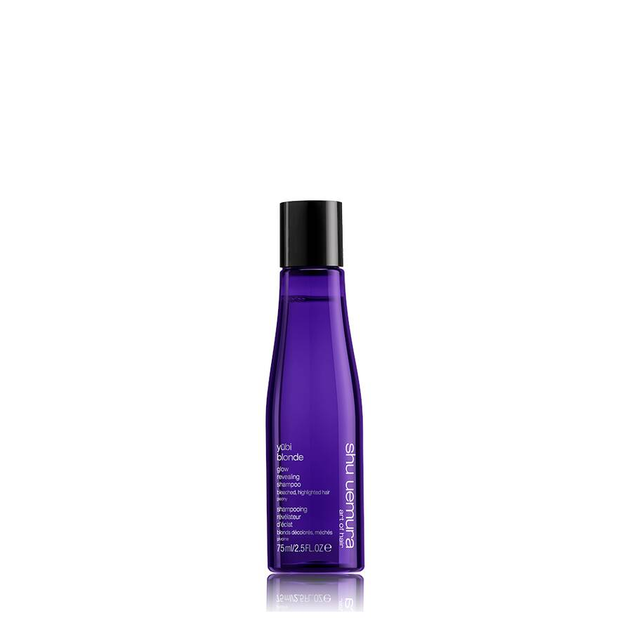 yūbi blonde glow revealing travel size shampoo