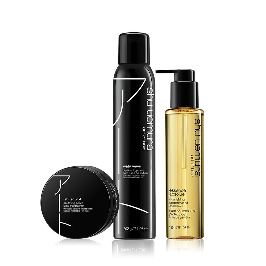 textured waves styling set
