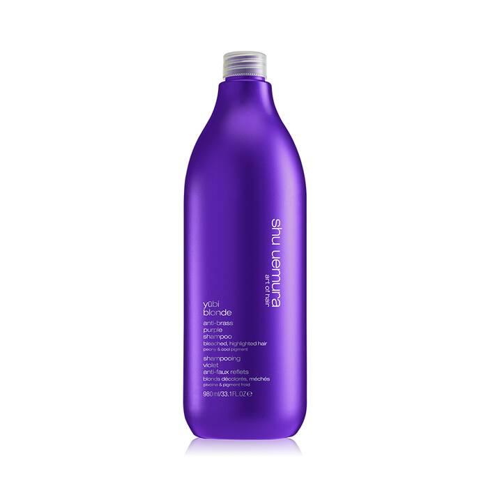 yūbi blonde anti-brass deluxe purple shampoo