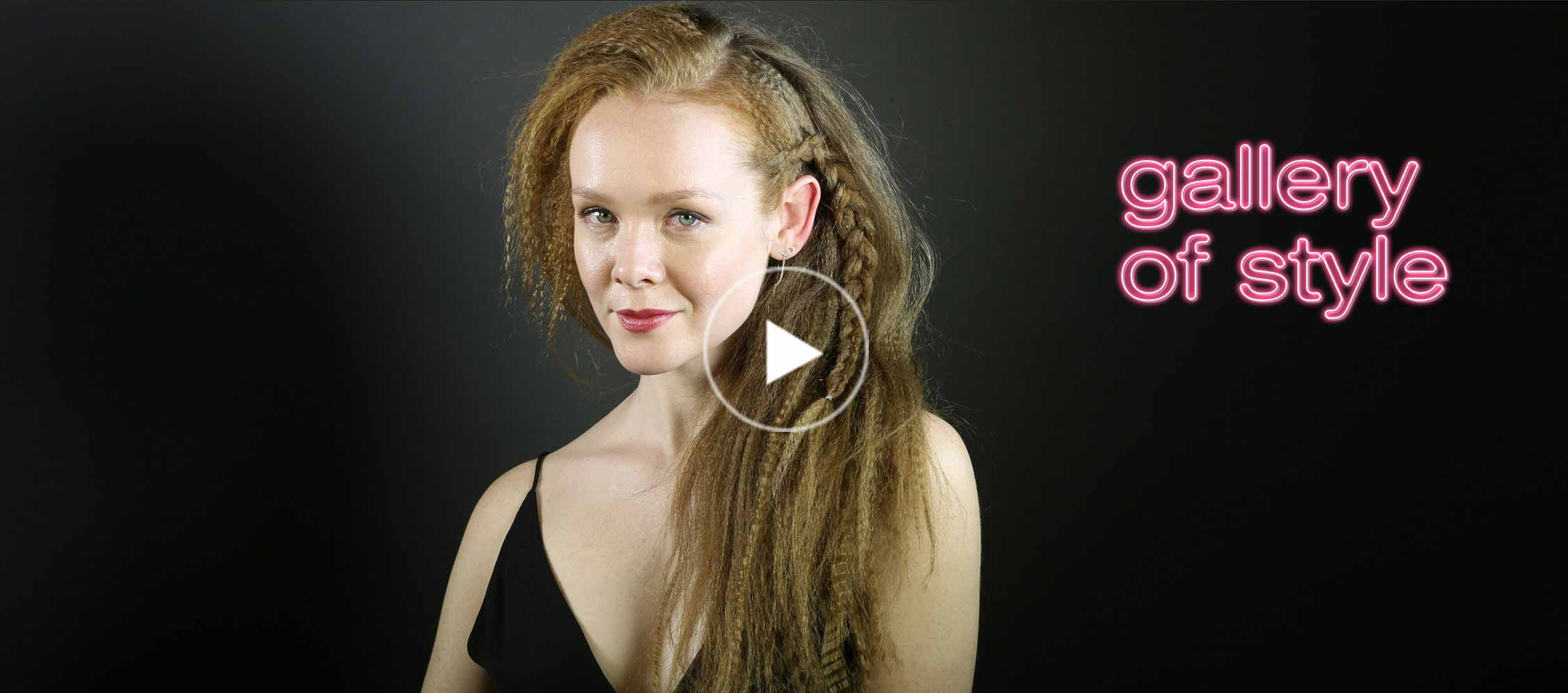how to french braid your hair video tutorial
