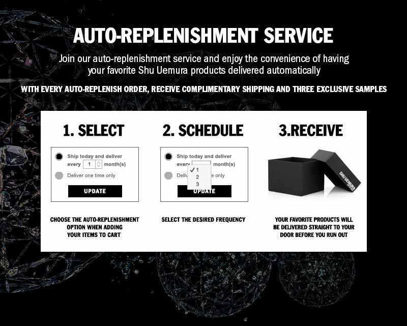 Shu Uemura Art of Hair Auto-Replenishment Service