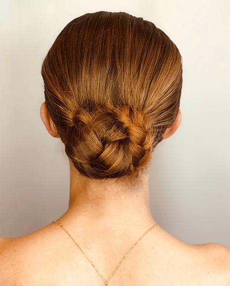 get the work in hairstyle