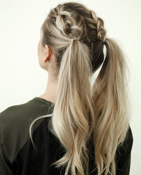 get the gym flow hairstyle