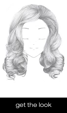 nude volume hairstyle
