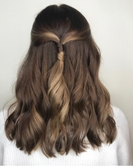 get the weekend chill hairstyle