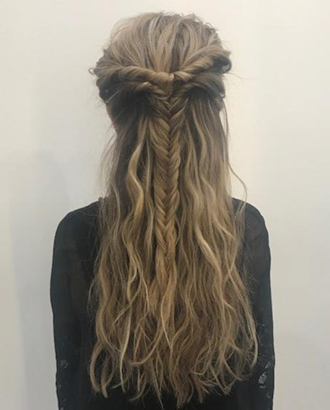 get the festival vibe hairstyle