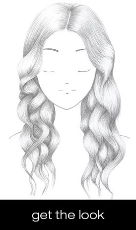 nude waves hairstyle