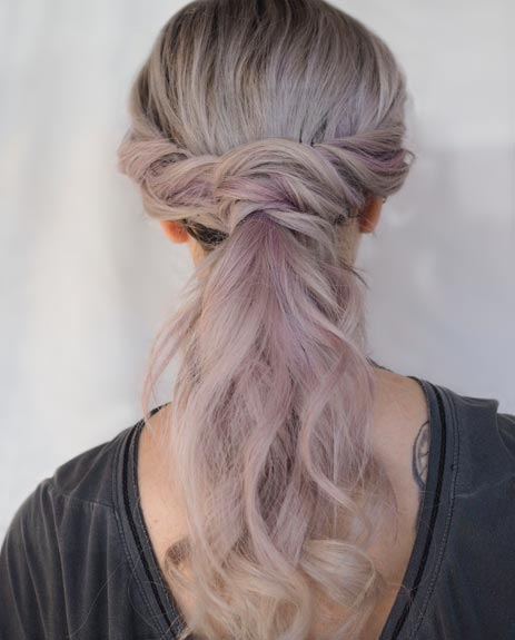 get the party on hairstyle