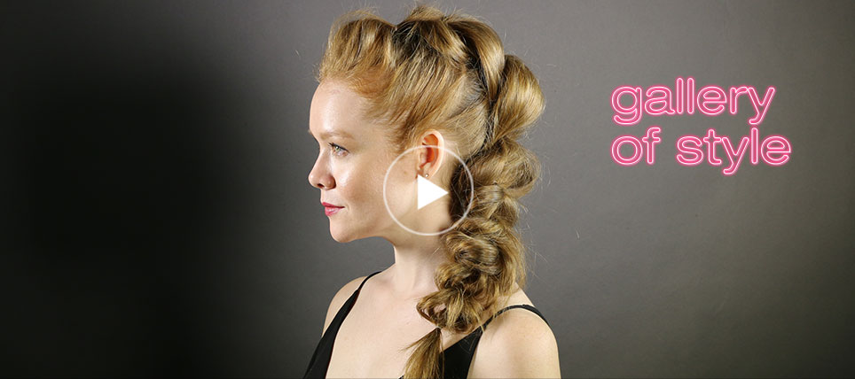 how to get a textured mohawk braid video tutorial