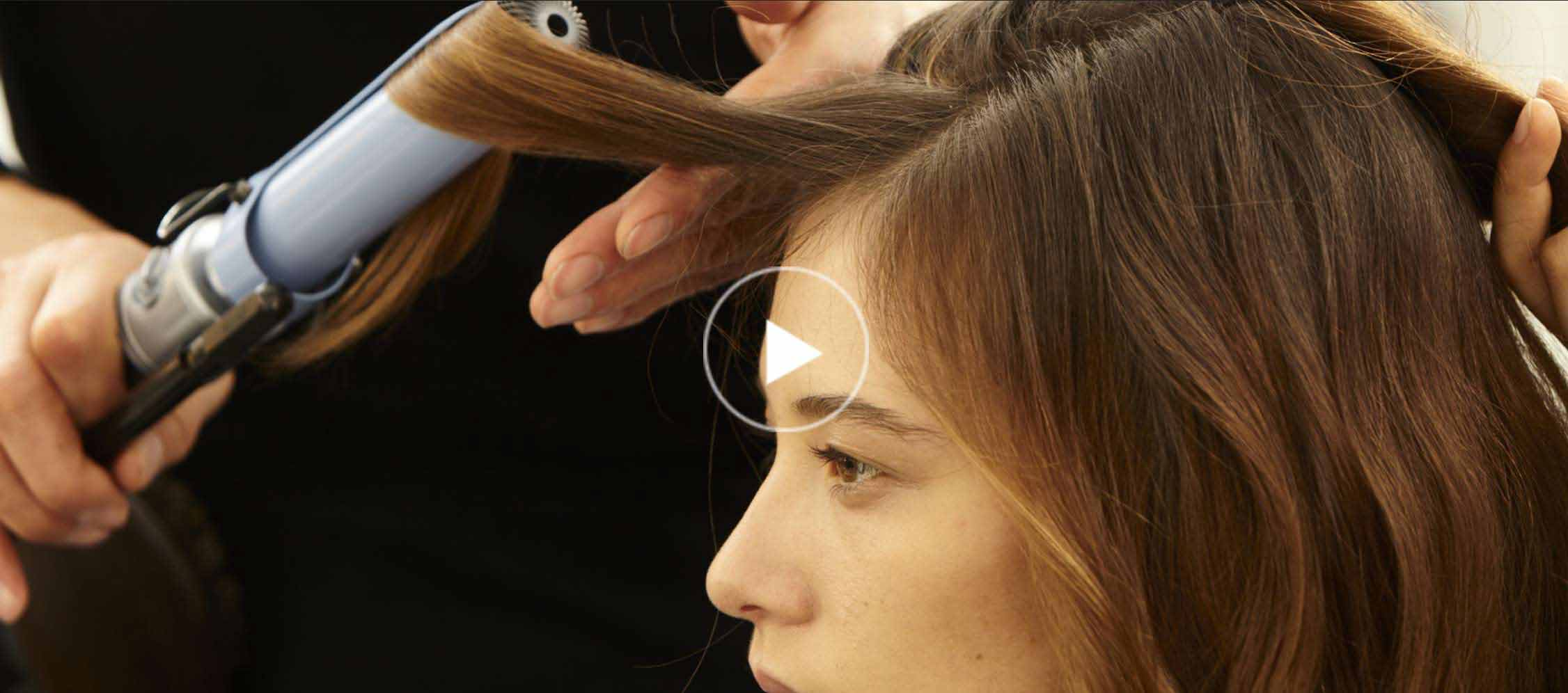 how to shape and reshape your blow dry hairstyle video tutorial