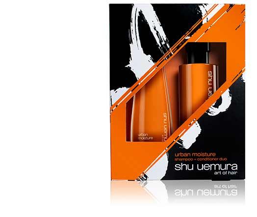 Shu Uemura Art of Hair Urban Moisture Gift Set for Dry Hair