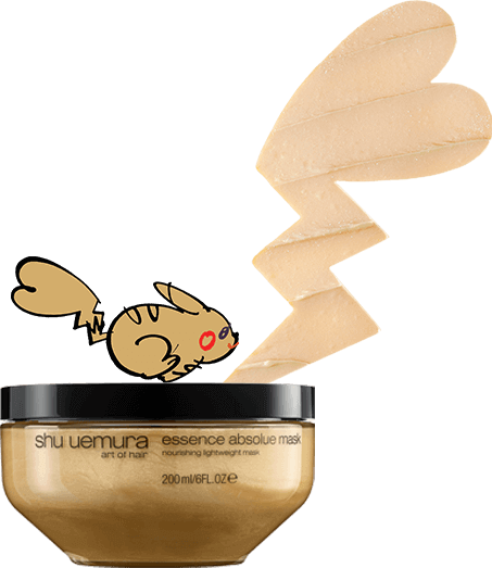 Shu Uemura Art of Hair x Pokemon Essence Absolue Nourishing Hair Mask