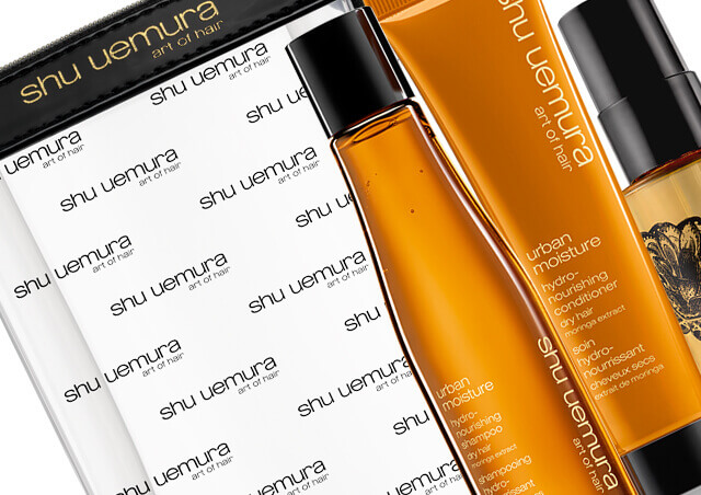 Shu Uemura Art of Hair Travel Size Hair Care