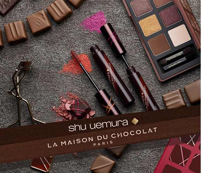 Shu Uemura Art of Beauty La Maison du Chocolat Collection