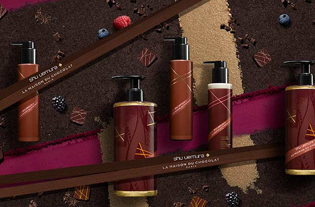 Shu Uemura Art of Hair La Maison du Chocolat Hair Care Collection